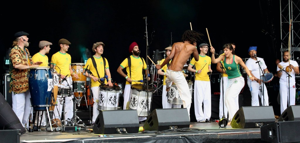 Honeydrum at Vamos! Festival Leeds 2015